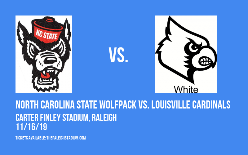 North Carolina State Wolfpack vs. Louisville Cardinals at Carter Finley Stadium