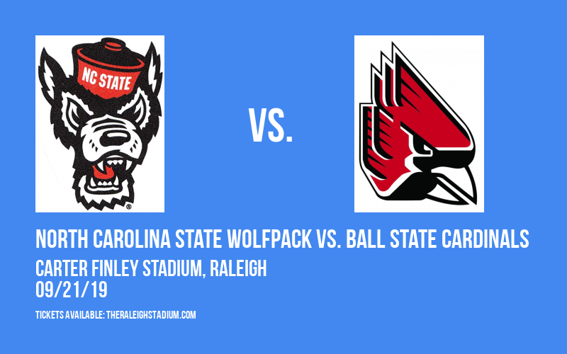 North Carolina State Wolfpack vs. Ball State Cardinals at Carter Finley Stadium