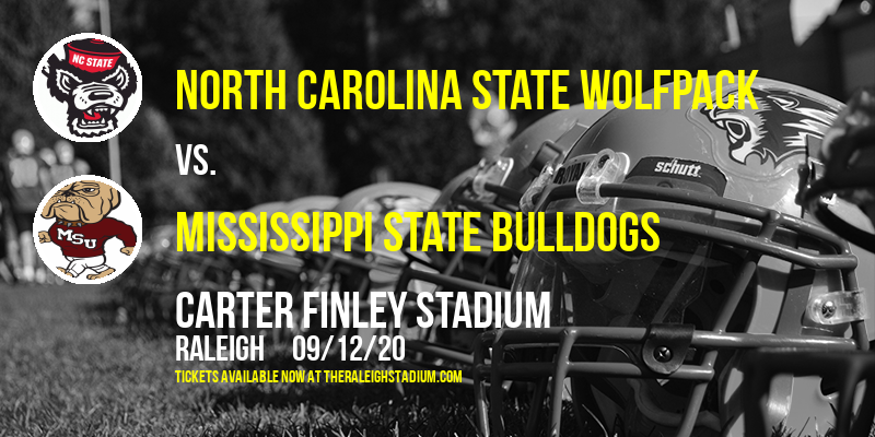 North Carolina State Wolfpack vs. Mississippi State Bulldogs at Carter Finley Stadium