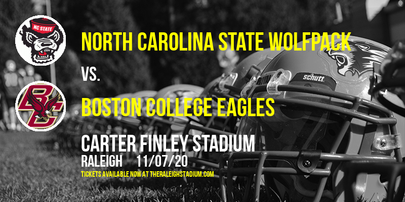 North Carolina State Wolfpack vs. Boston College Eagles at Carter Finley Stadium