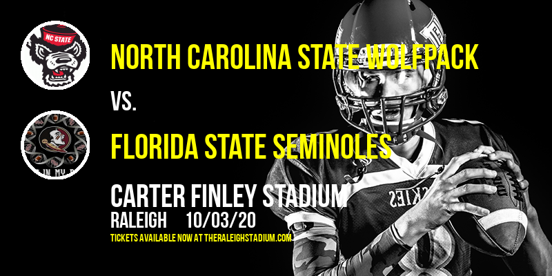 North Carolina State Wolfpack vs. Florida State Seminoles at Carter Finley Stadium