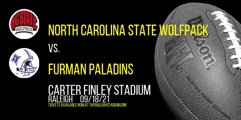 North Carolina State Wolfpack vs. Furman Paladins at Carter Finley Stadium
