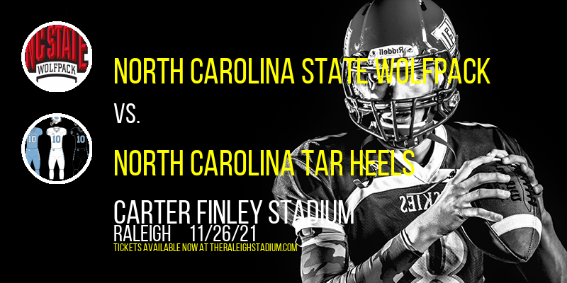 North Carolina State Wolfpack vs. North Carolina Tar Heels at Carter Finley Stadium