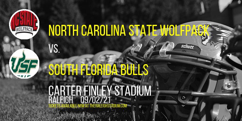 North Carolina State Wolfpack vs. South Florida Bulls at Carter Finley Stadium